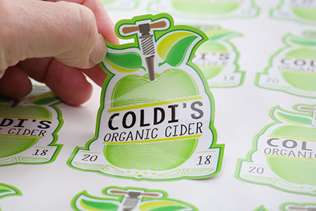 labels for cider